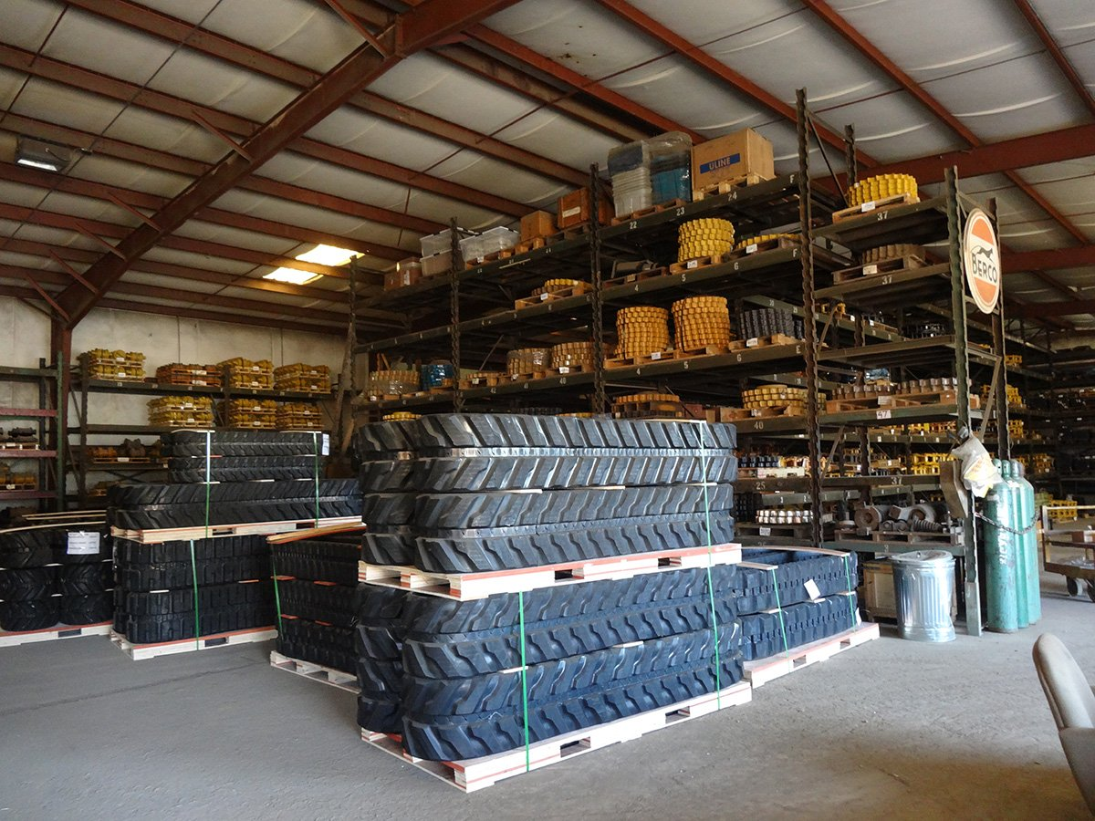 Undercarriage Parts For Mini Excavators - North American Track
