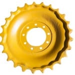 Yellow Chain Sprocket Rim