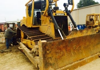 Working hard on a Cat D6T System One Conversion!