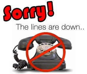 Phones Down - AT&T Outage! - North American Track